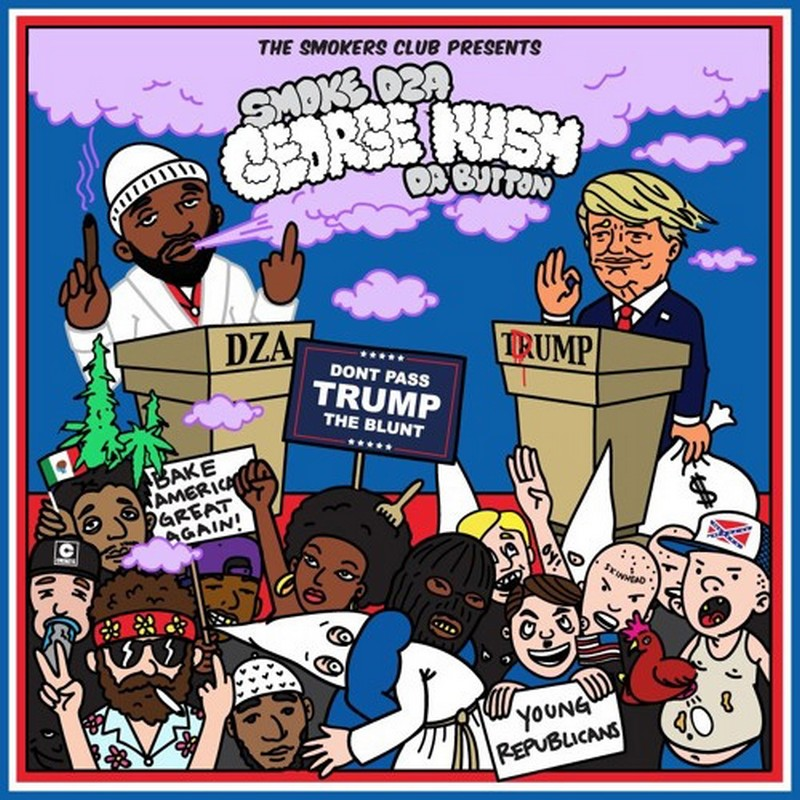 Smoke DZA - George Kush: Da Button mixtape