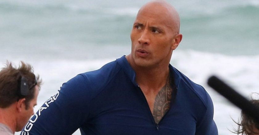 Dwayne Johnson - Baywatch forgatás