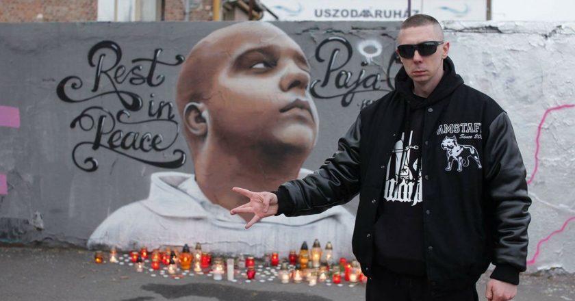 Razo Papa - Paja-G Rest In Peace graffiti Filatorigát