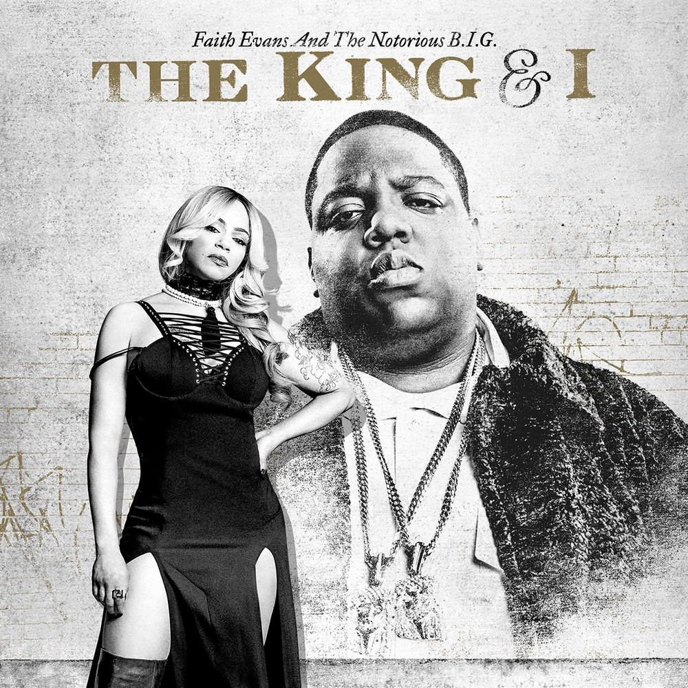 Faith Evans and Notorious BIG The King and I album cover