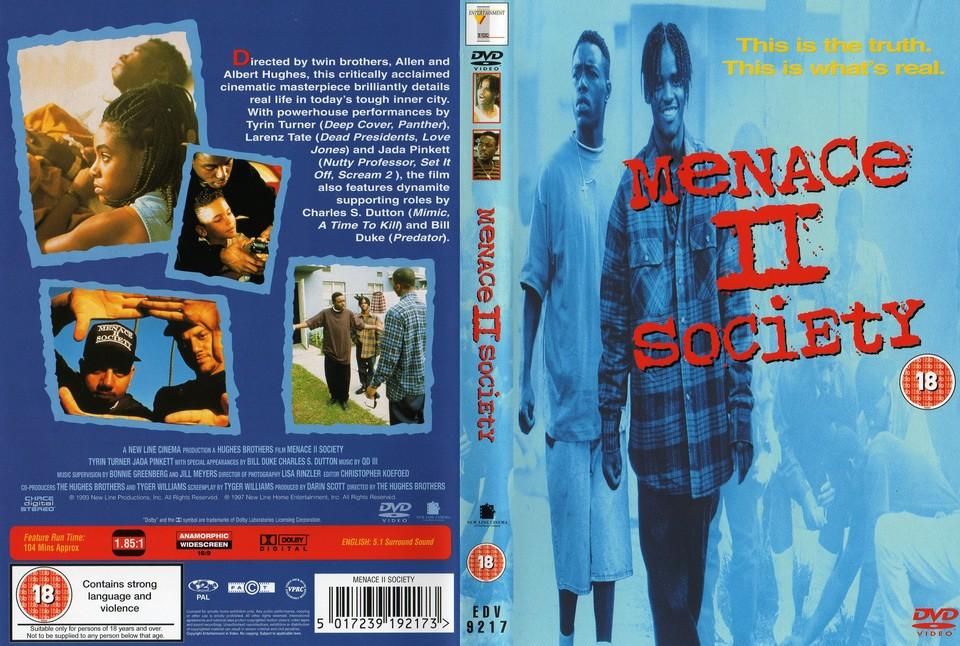 Menace II Society - Veszélyes elemek film DVD borító