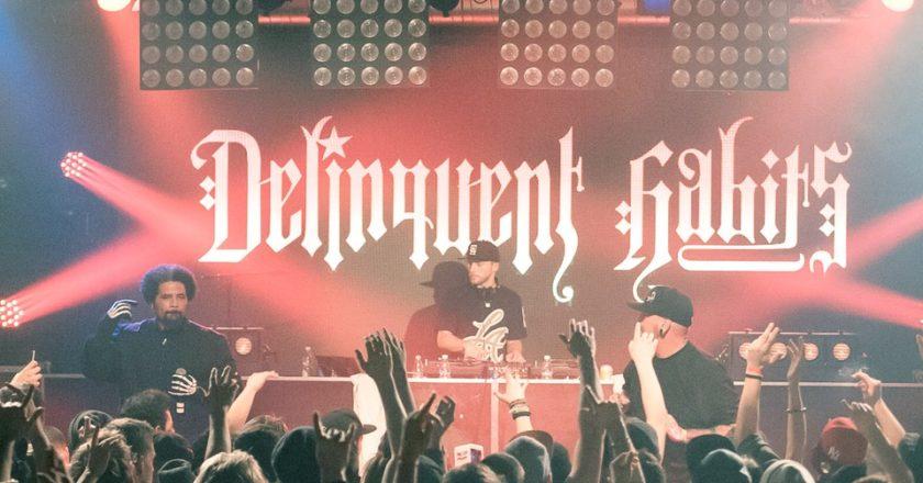 Delinquent Habits show