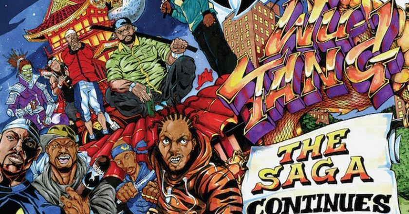 Wu-Tang Clan - The Saga Continues album cover