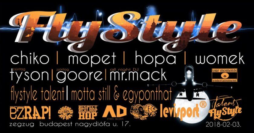 FlyStyle Talent Döntő Zeg Zug Budapest