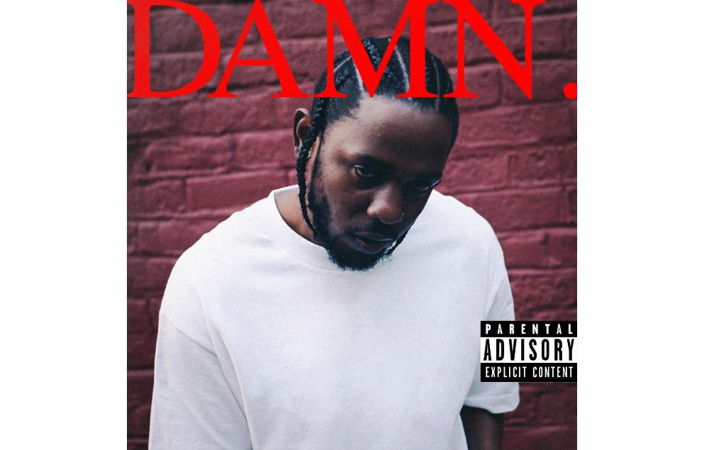 Kendrick Lamar DAMN. cover