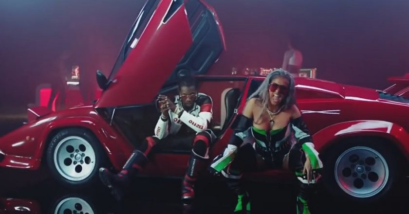 Migos Nicki MInaj Cardi B Motorsport video