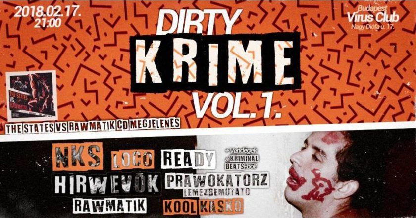 Dirty Krime vol. 1. Hip Hop Party Vírus Club