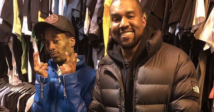 Lil Uzi Vert és Kanye West shoppingolás közben