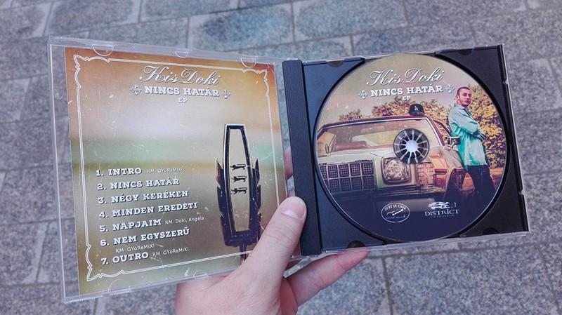KisDoki - Nincs Határ EP disc