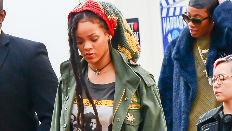 Rihanna Ocean's Eight forgatás
