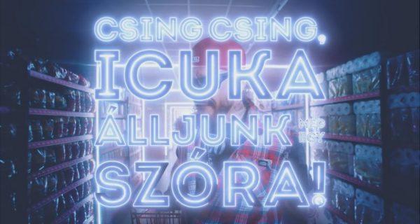 Icuka Ganxsta Zolee CBA-s varázs reklám dal
