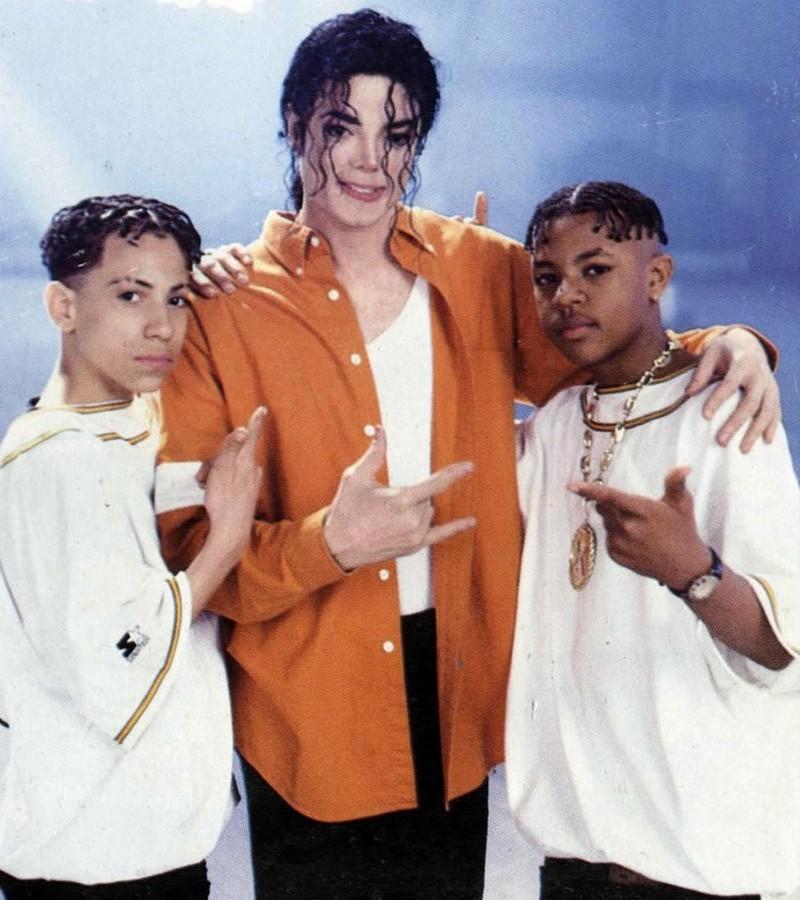 Michael Jackson és a Kris Kross rapduó