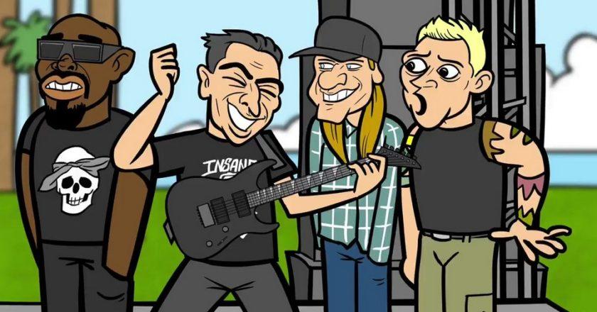 Powerflo The Gring Gróf Balázs animációs videóklip