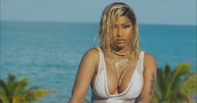 Nicki Minaj Bed video