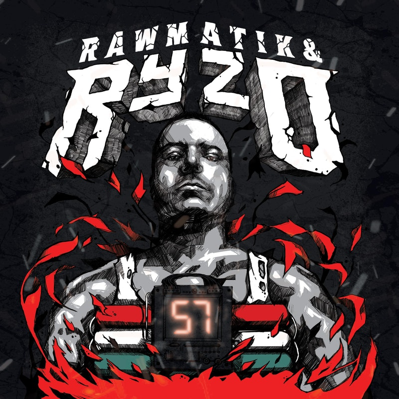Ryzo Rawmatik 57 album borító