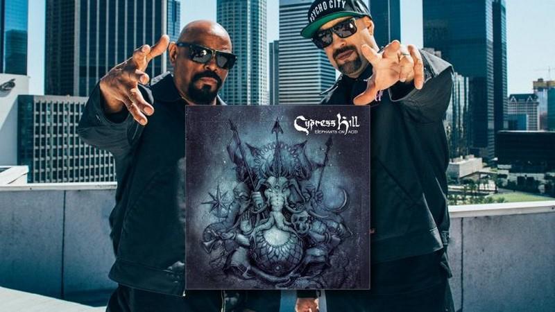 Sen Dog B-Real Cypress Hill Elephants on Acid album promo