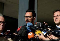 Valtonyc Josep Miquel Arenas Beltrán sajtótájékoztató