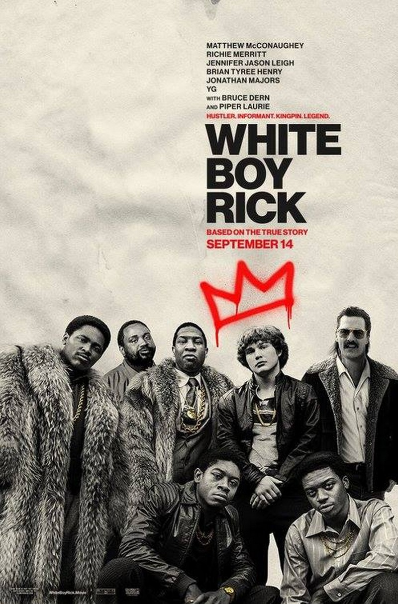White Boy Rick gengszterfilm plakát