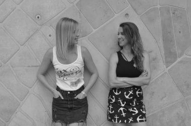 Koltay Anna és Turán Eszter a BP Underground Hip Hop dokumentumfilm rendezői