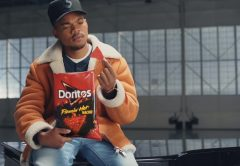 Doritos Flamin' Hot Nacho chips Chance The Rapper Super Bowl video