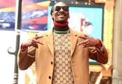 Snoop Dogg a hollywoodi Hírességek Sétányán