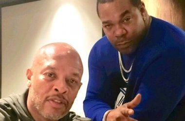 Dr. Dre és Busta Rhymes 2019