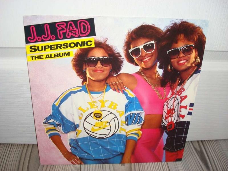 JJ Fad Supersonic The Album vnyl