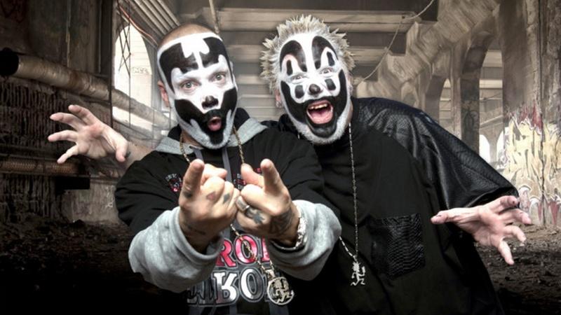 Insane Clown Posse rap group