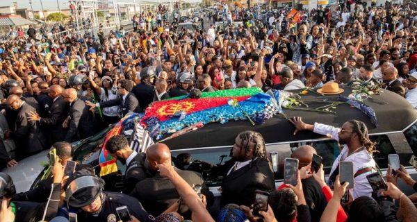 Nipsey Hussle temetése