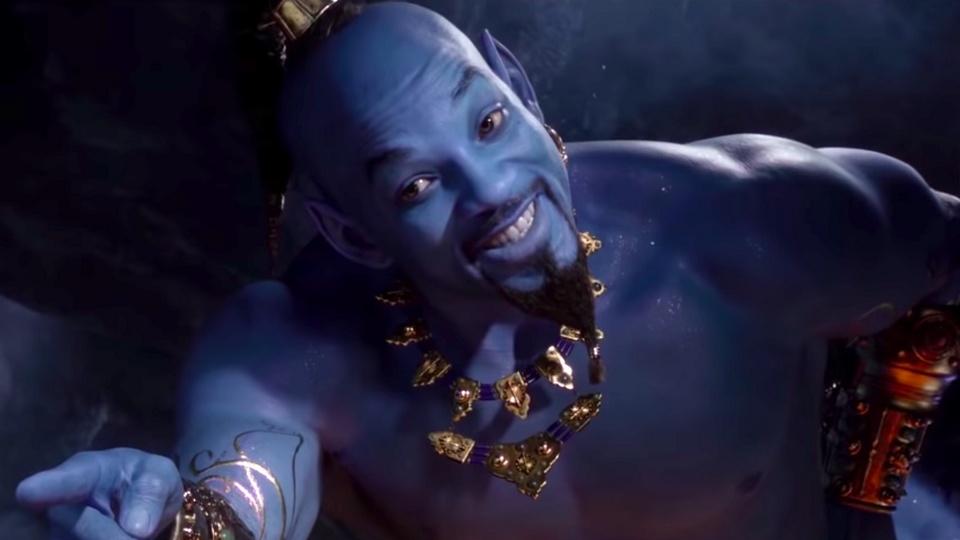 Will Smith dzsinn Aladdin film