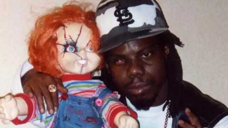 Bushwick Bill egy Chucky babával