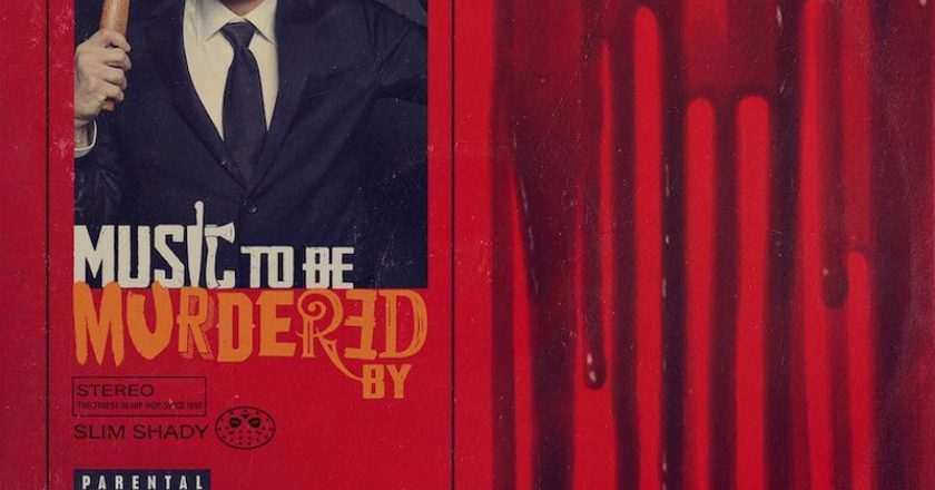 Eminem - Music To Be Murdered By album borító